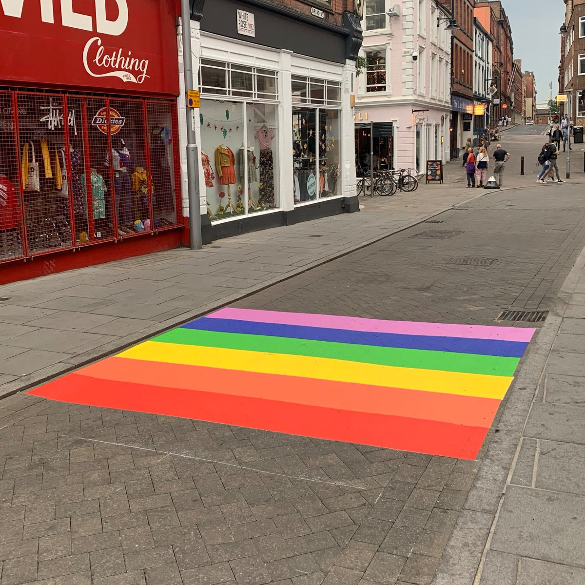 Nottingham Rainbow Road