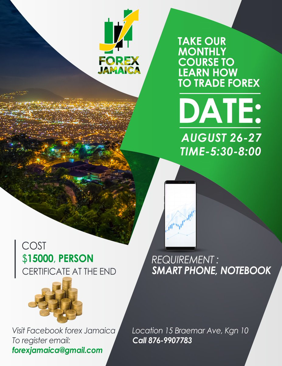 Forex Jamaica - What Is That? And Who Manages That?