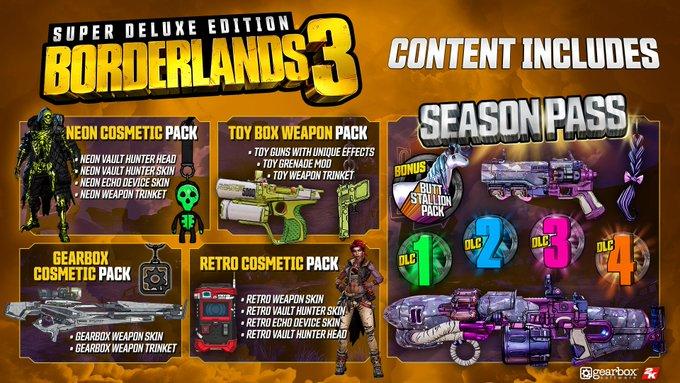Los detalles de los contenidos postlanzamiento de Borderlands 3 llegarán en la Gamescom 2019