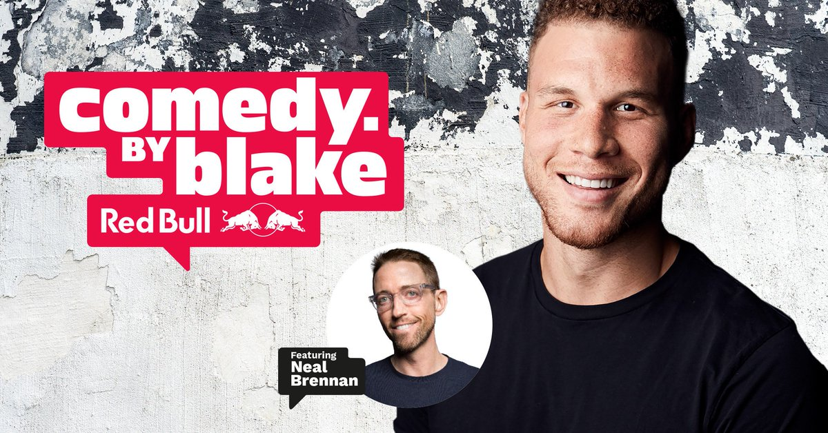 TONIGHT in MONTREAL! Don't miss Blake Griffin's comedy. by blake, featuring an all-star lineup, including Jim Norton, Jimmy Carr, Jeff Ross, Sam Jay, headliner Neal Brennan — and surprise guests! #JFLMTL https://t.co/KxENK6yjJl
