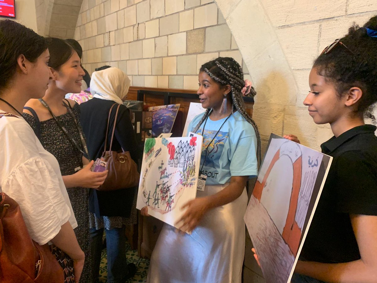 Yesterday's #SudanRevolutionArt exhibition, taking banned & whitewashed artwork from Khartoum's sit-in site & displaying it in the heart of our democracy, hosted by @APPGSudans in Parliament, was a great success. Check out the pictures:  http:// bit.ly/2LFhUsj     <br>http://pic.twitter.com/GQwvcSCAsA