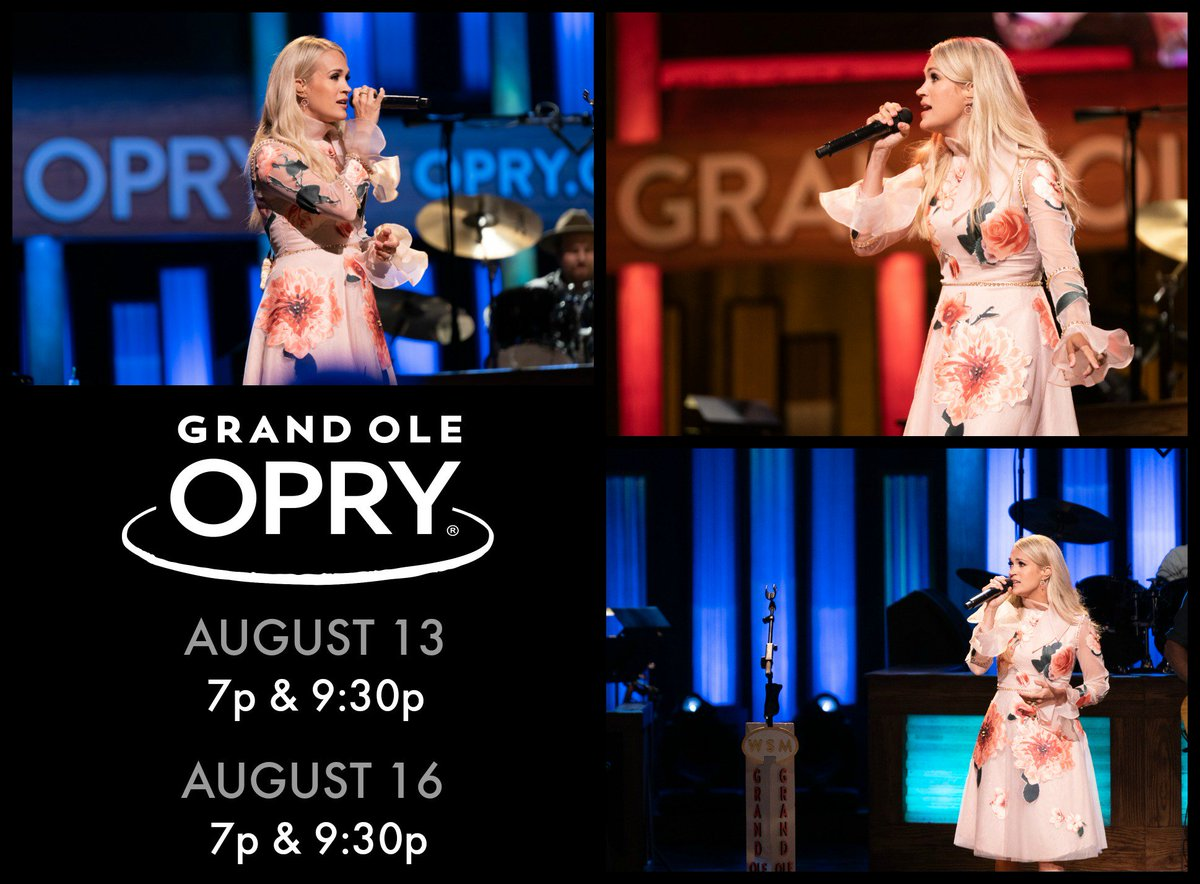 #TBT to all the fun we had this past weekend at the @Opry! Let's do it again August 13 and August 16!!!🎤