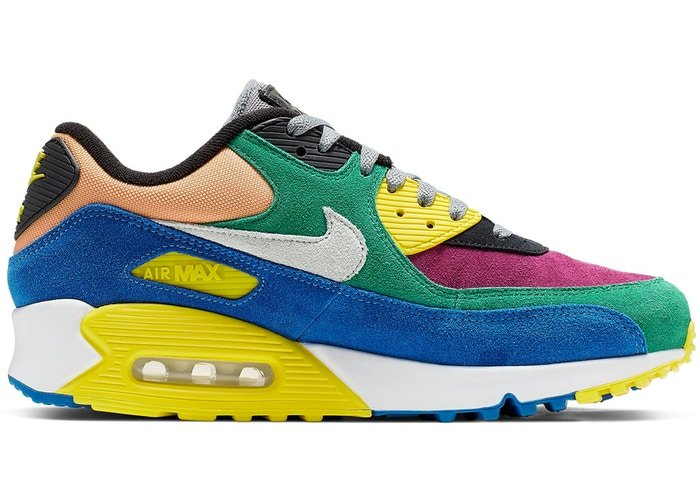 3758b6d0 ... 2000s makes its return as the Air Max 90 gets a Viotech colorway. Shop  the sneakers on StockX: http://bit.ly/AirMax90Viotech pic.twitter .com/JANQHju5eg