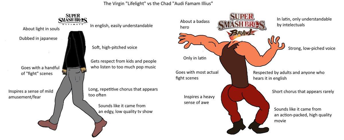 """Lifelight vs. Audi Famam Illius"" in a nutshell.  #SmashBros #SmashBrosUltimate #SmashBrosBrawl"