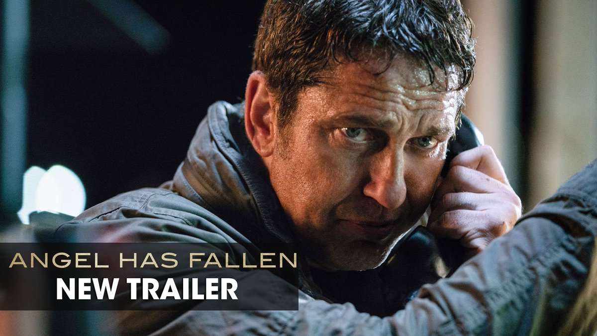 The hero becomes the fugitive. Watch the new trailer for #AngelHasFallen now - In theaters August 23.