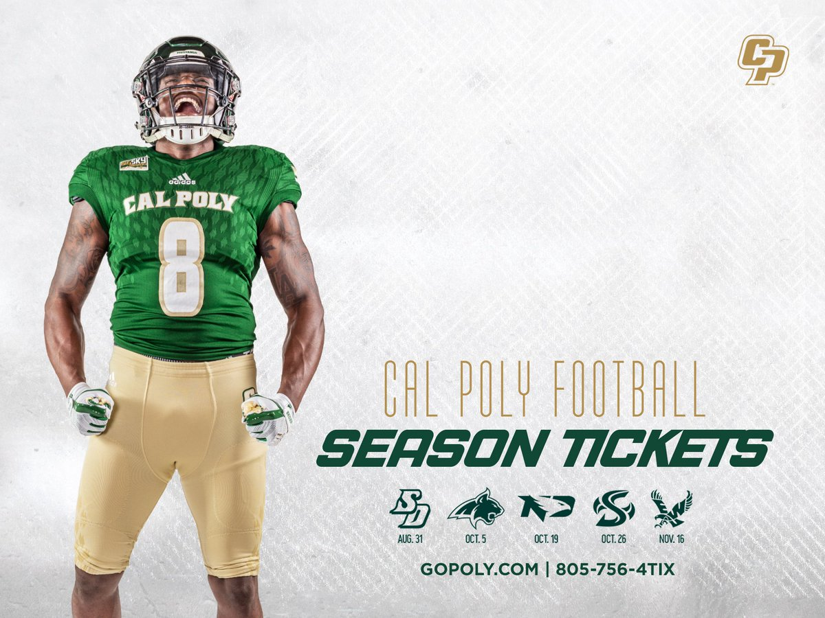 The 2019 season kicks-off at Spanos Stadium in a month! Get your season tickets today! #RideHigh 🎟 bit.ly/FBST19