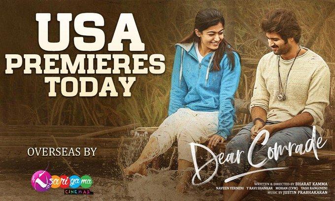 #DearComrade Review - First Report - Realistic, Dull, Vijay Deverakonda and Rashimika Shines once again
