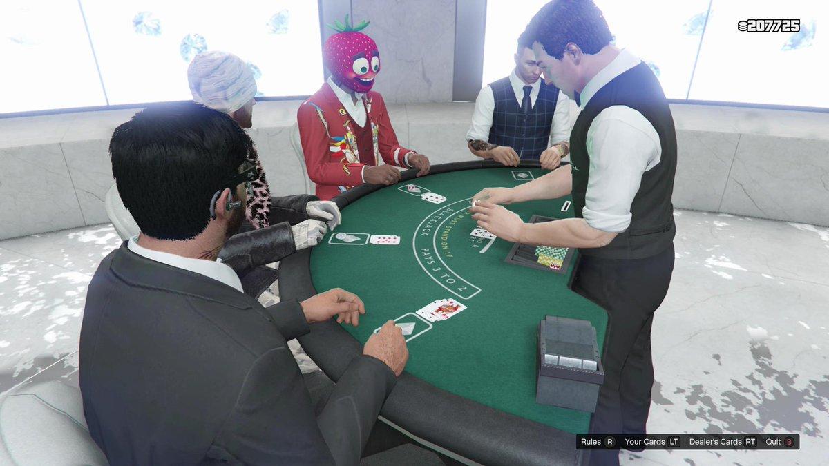 Gta News Rockstarintel Com On Twitter Blackjack Is Fun Gtaonline