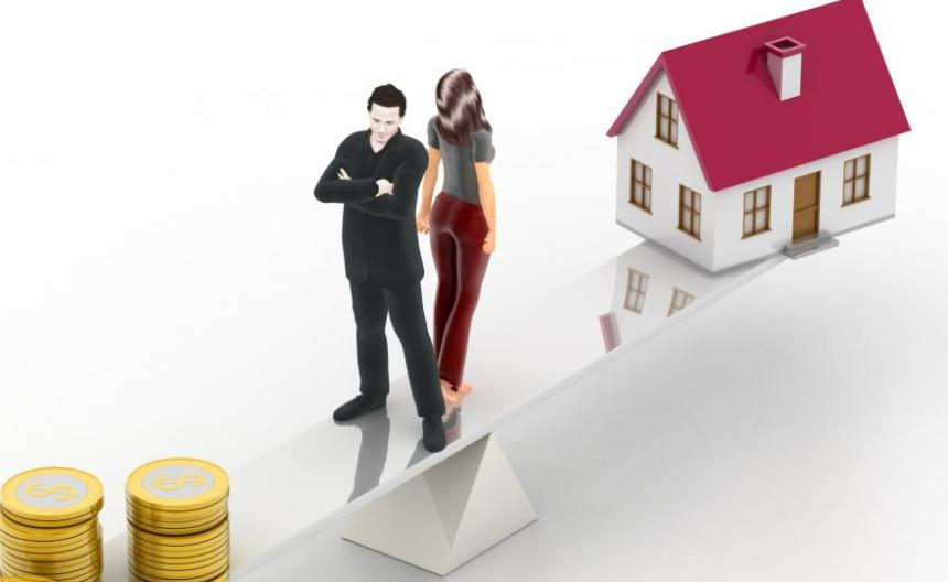 дележка ипотеки при разводе