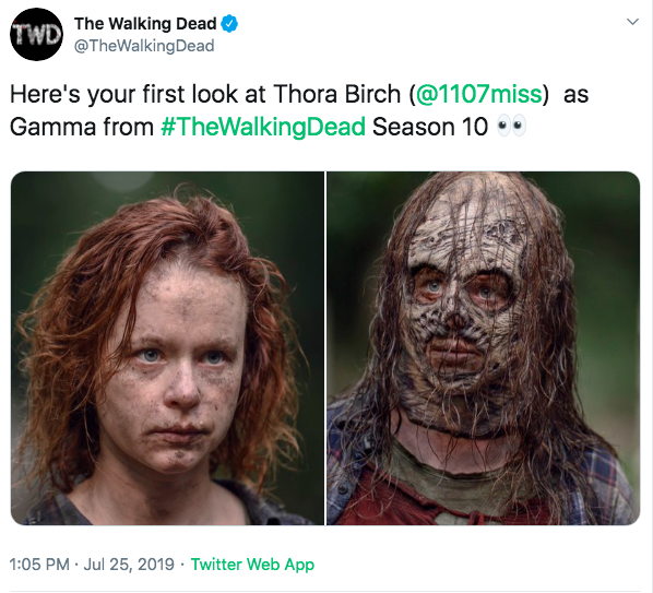 The Walking Dead On Twitter Here S Your First Look At