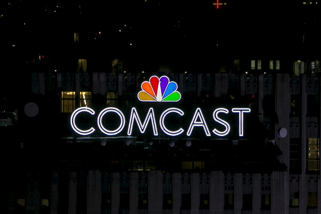 Comcast second-quarter profit beats Wall St., misses on revenue