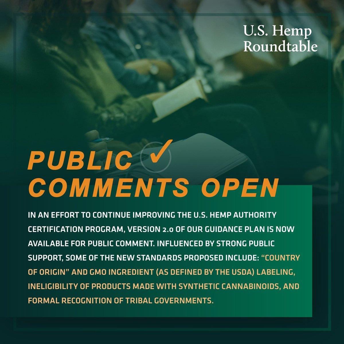 US Hemp Roundtable (@HempRoundtable) | Twitter