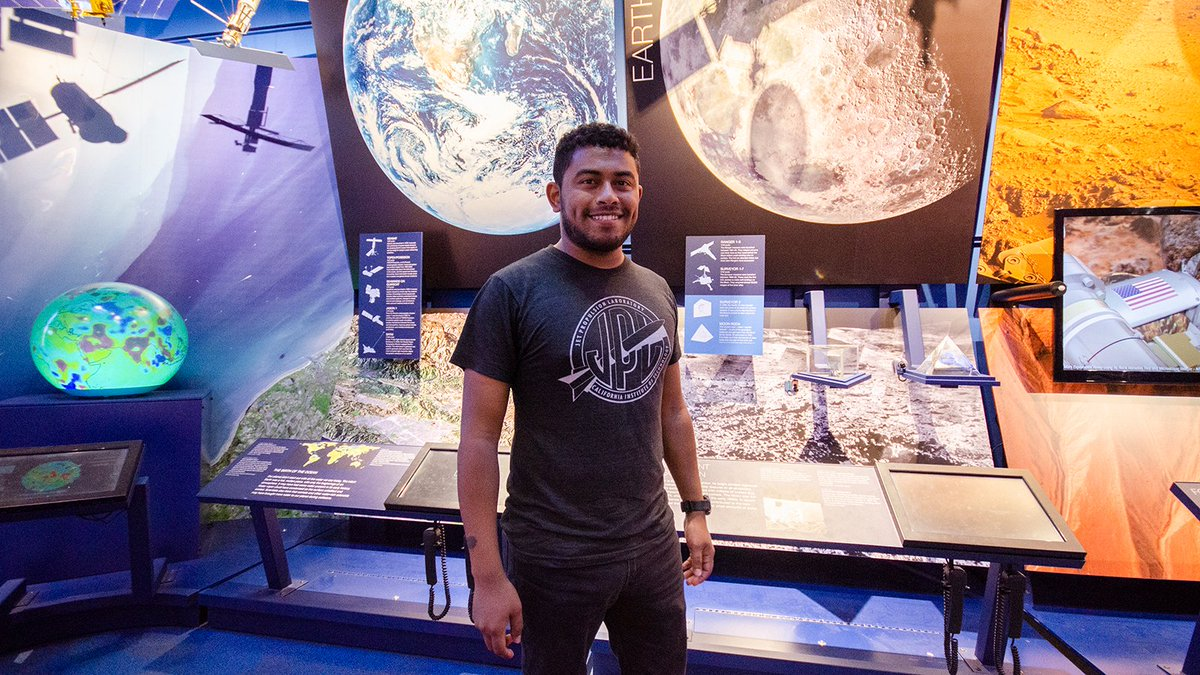 Science was the last thing on Jose Martinez-Camachos mind until a diagram in his chemistry textbook caught his eye. Now the @NASAJPL intern is studying how lunar craters might point the way to water ice on the Moon: go.nasa.gov/2Y3U8wL #NationalInternDay #MeetJPLInterns