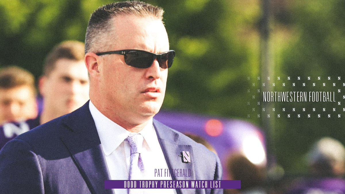 Kind of a no brainer. After earning Big Ten Coach of the Years honors last season, @coachfitz51 is on the watch list for the 2019 @DoddTrophy. #GoCats