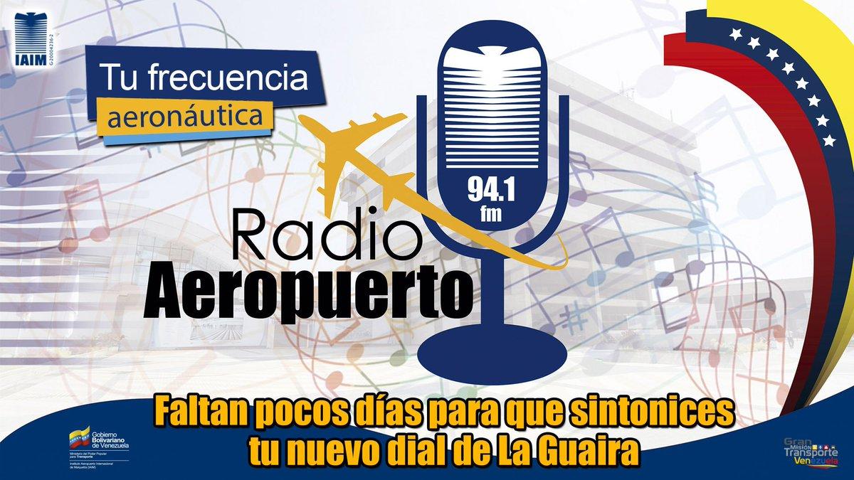 Resultado de imagen para radio aeropuerto 94.1