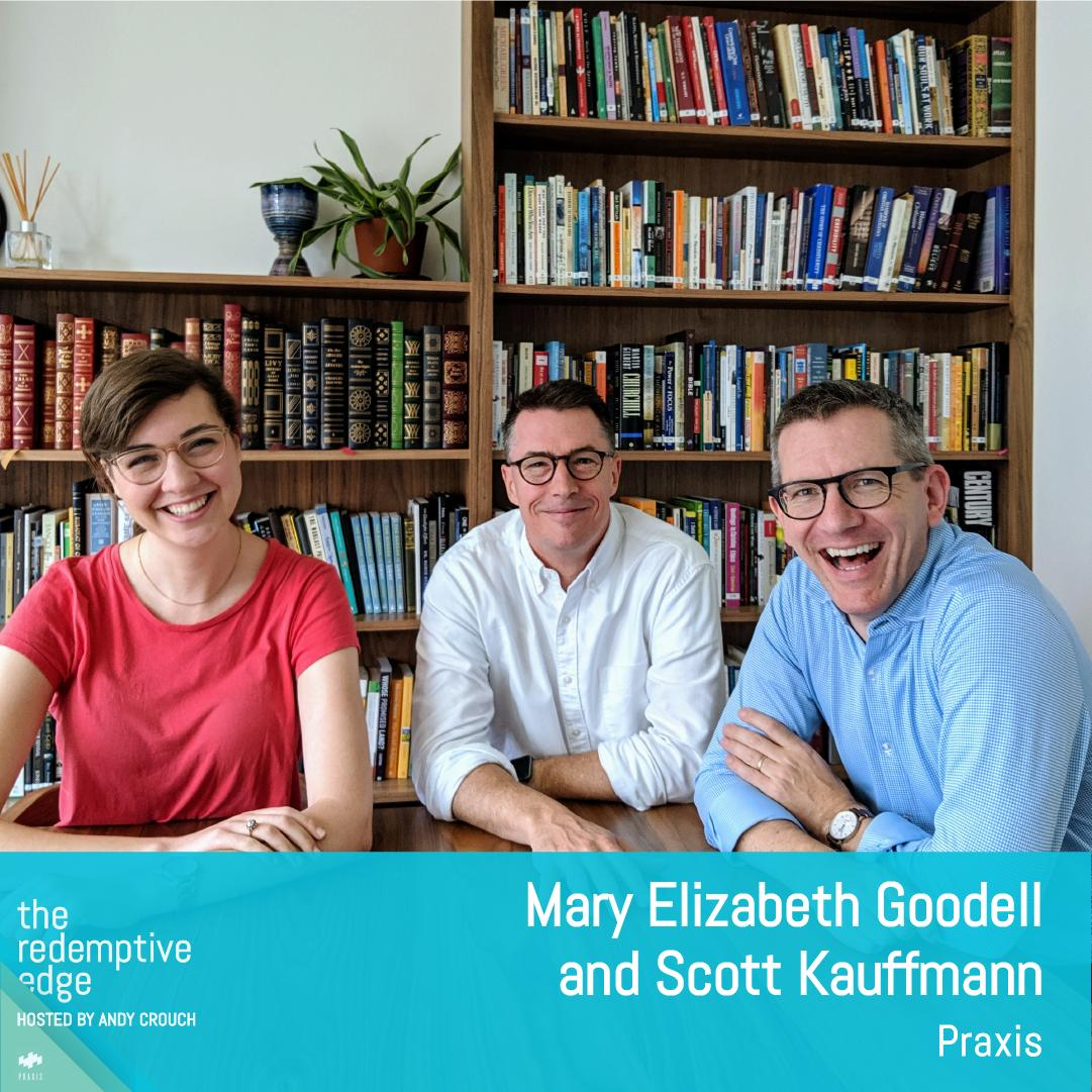 Our first season of The Redemptive Edge is coming to a delightful close. Tune in to hear @ahc and the shows producers @scottkauffmann & Mary Elizabeth Goodell reflect on the season, share their favorite moments, and discuss whats next from Praxis.ow.ly/m8uv50vbDfy
