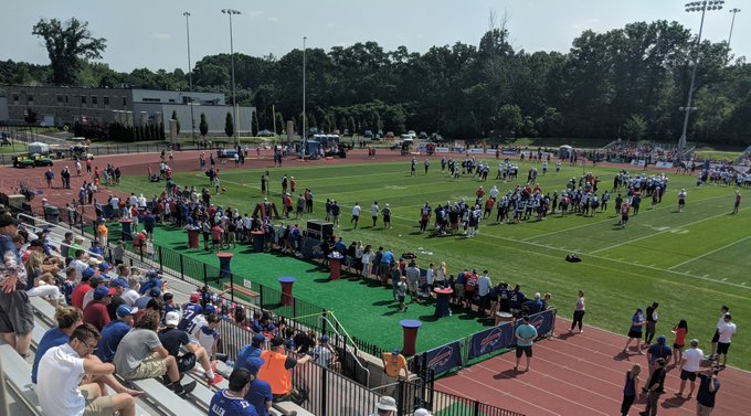 Buffalo Bills open training camp, recap first two days