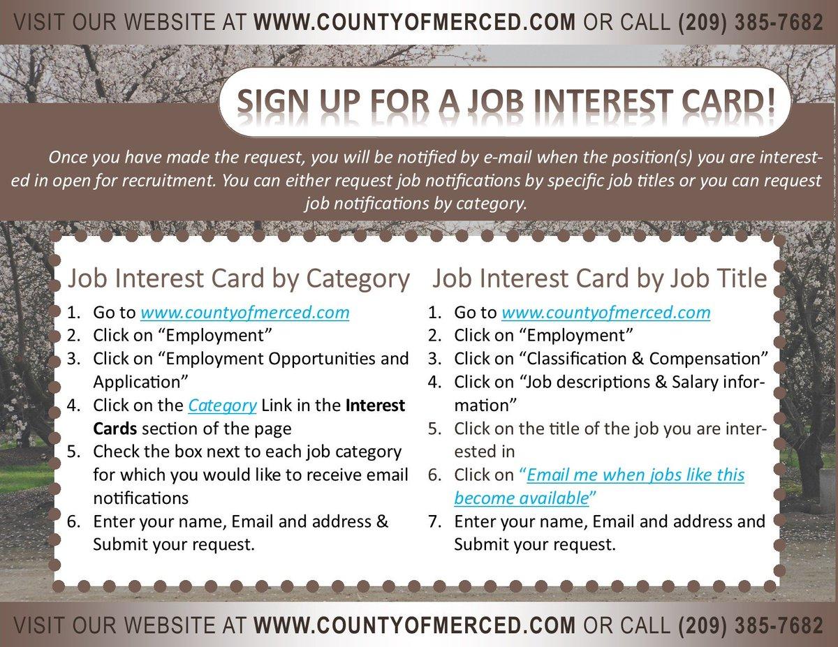 Merced County Human Resources (@MercedCountyHR) | Twitter