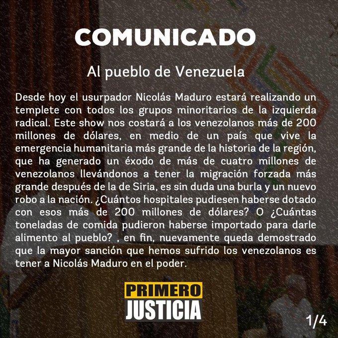 Imagem  - EAWJa AXYAAt1Yy format jpg name small - 'Foro da Morte': Venezuela gastou 200 milhões de dólares com Foro de São Paulo, diz partido