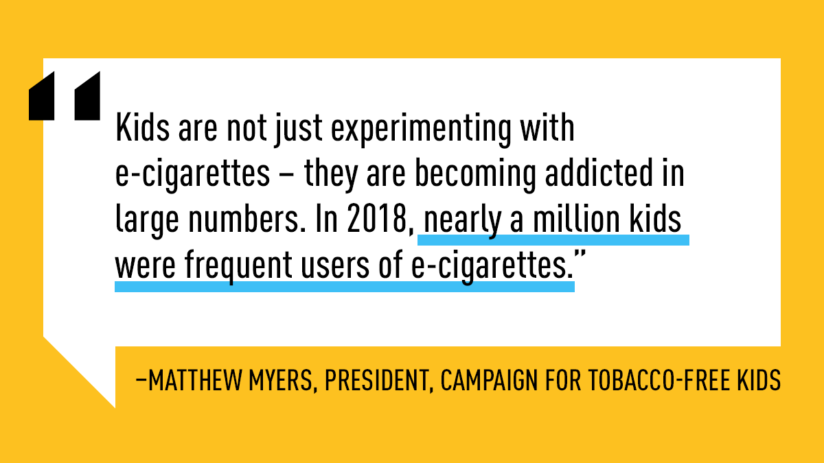 Media Tweets by Campaign for Tobacco-Free Kids