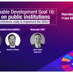 Image for the Tweet beginning: #Finance4SDGs WEBINAR! August 1 -11amEDT  #SustainableDevelopment Goal