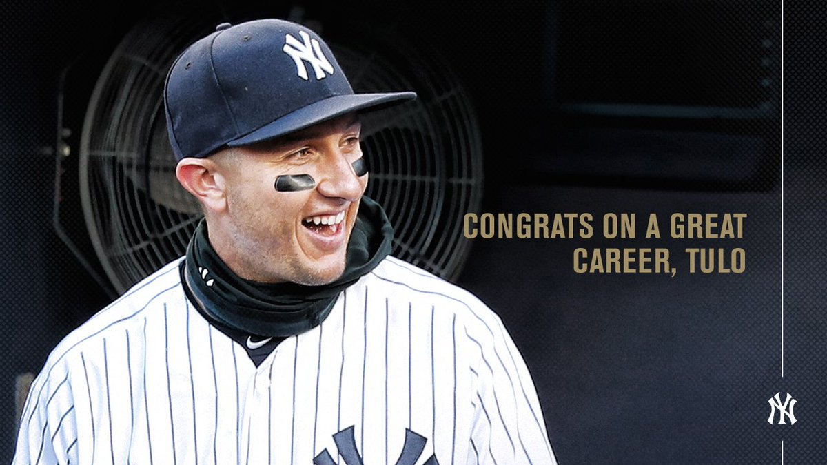 """""""I'm saying goodbye to Major League Baseball, but I will never say goodbye 2 the game I love. Thanks again 2 all of you!"""" - Troy TulowitzkiThank you, Tulo."""