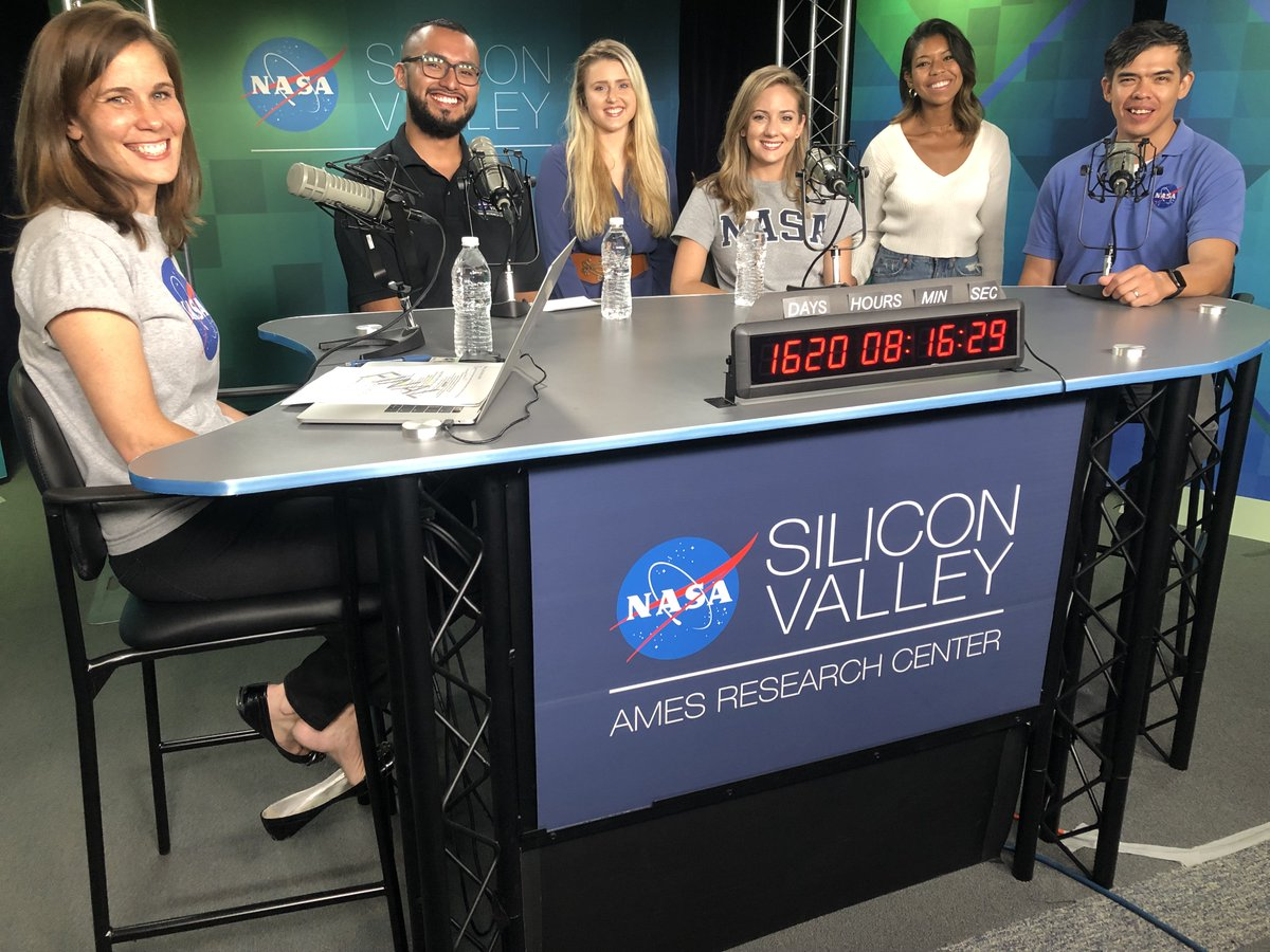 LIVE NOW: Hear from interns and mentors about how to get an internship at NASA in this episode of NASA in Silicon Valley Live! Have questions? Chat with us on Twitch: twitch.tv/nasa