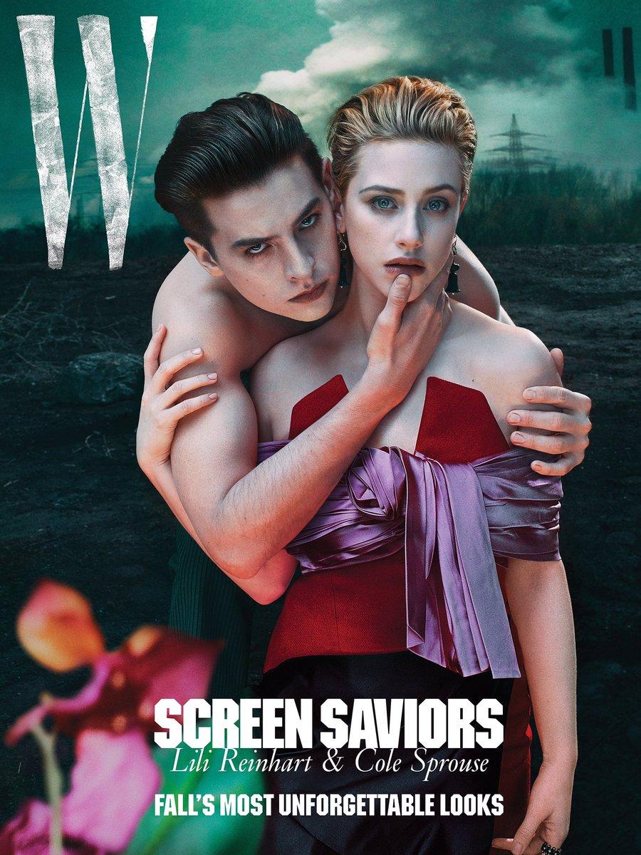 """กรี๊ดดดด สรุป Lili Reinhart และ Cole Sprouse ยังไม่เลิกกันจ้า!!!! ล่าสุดทั้งคู่ได้ถ่ายแบบลง W Magazine July 2019 และลิลี่อัพข้อความผ่าน IG ถึงข่าวที่ว่าทั้งคู่เลิกกันว่า """"BREAKING: A reliable source has confirmed that none of you know sh*t"""" แซ่บมากกกก ดีใจที่เป็นแค่ข่าวปลอม 👏 https://t.co/nWm98s9ssn"""