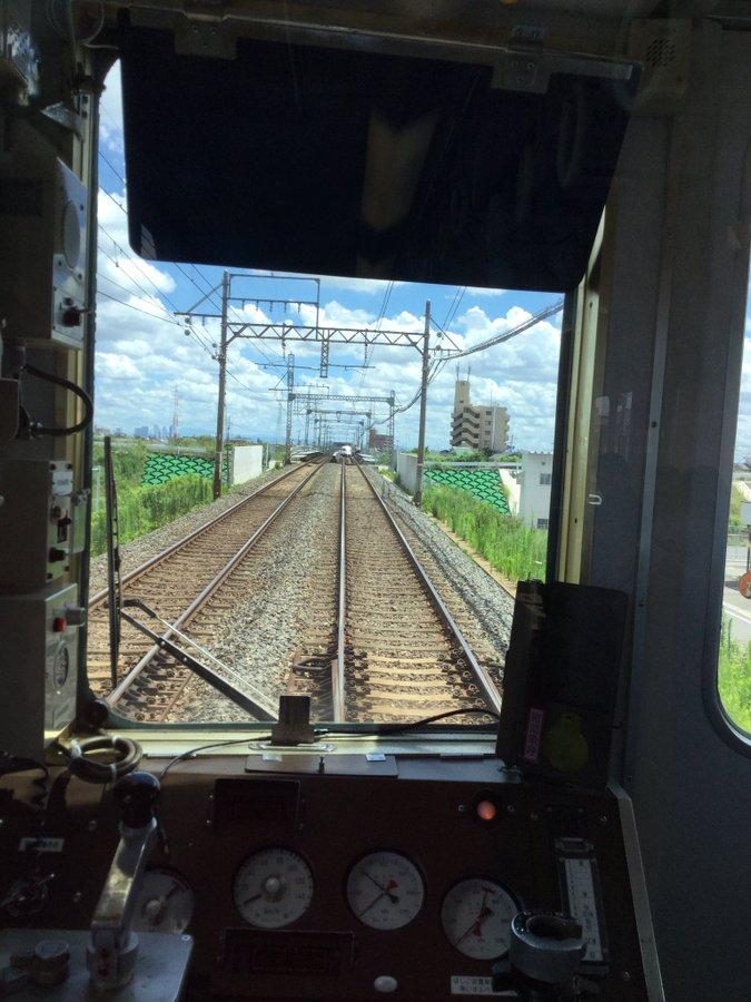 名古屋線の近鉄蟹江駅~富吉駅間で人身事故が起きた現場の画像