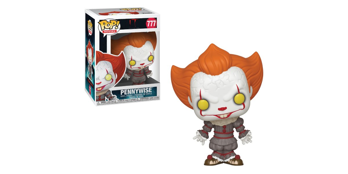 RT & follow @OriginalFunko for a chance to WIN a Pennywise Pop! #ITChapter2