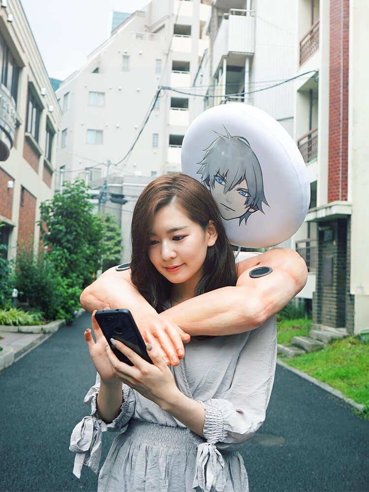乙女ゲームのプレイに最適な「後ろから抱きしめてくれるスピーカー」を制作しました。 【プレゼント】後ろから抱きしめてくれるロマンチックなスピーカーが新登場!  #オトメ勇者
