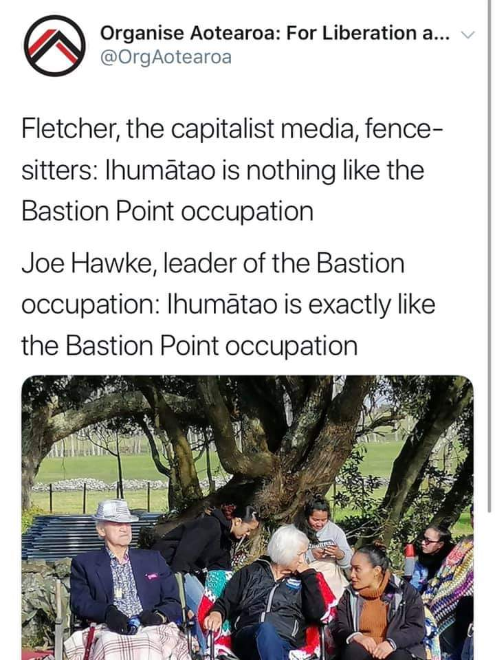 #protectihumatao #1863landconfiscation #BastionPoint https://t.co/ZrBW2BVhLv