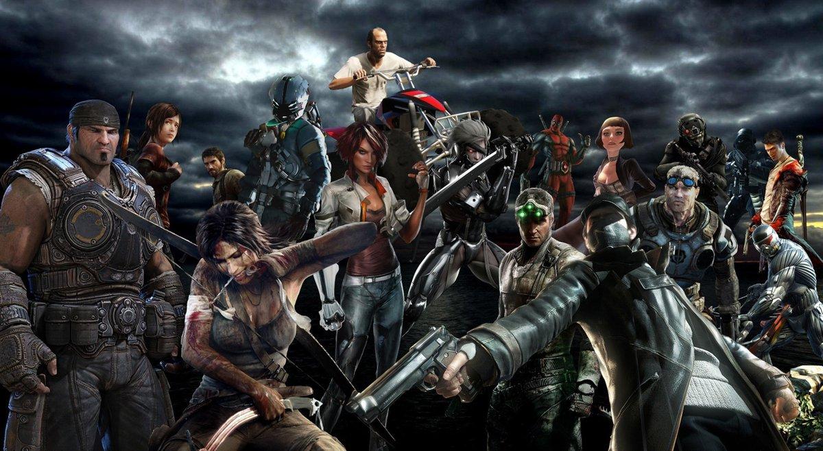 Картинки с героями из игр