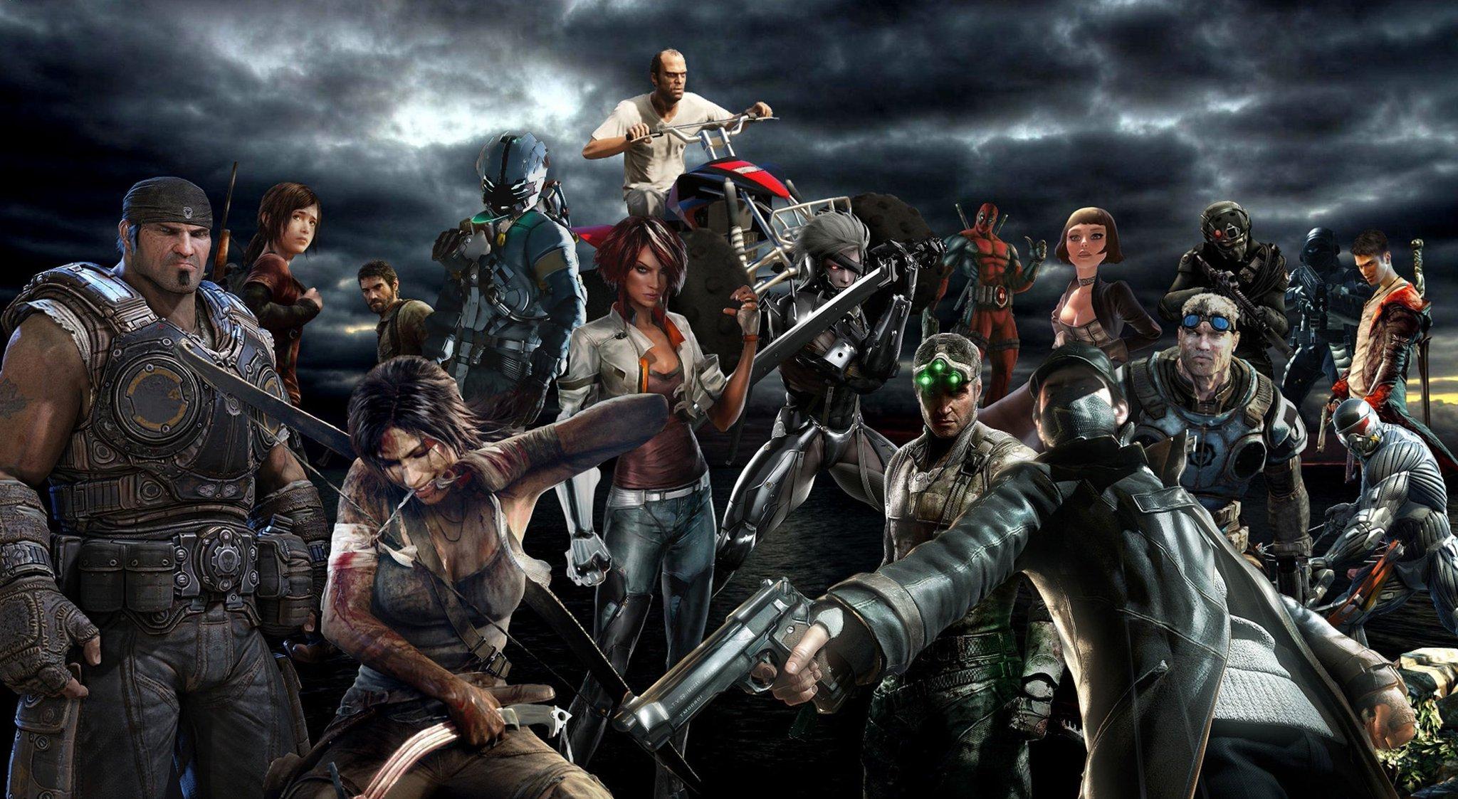 Интересные персонажи из игр