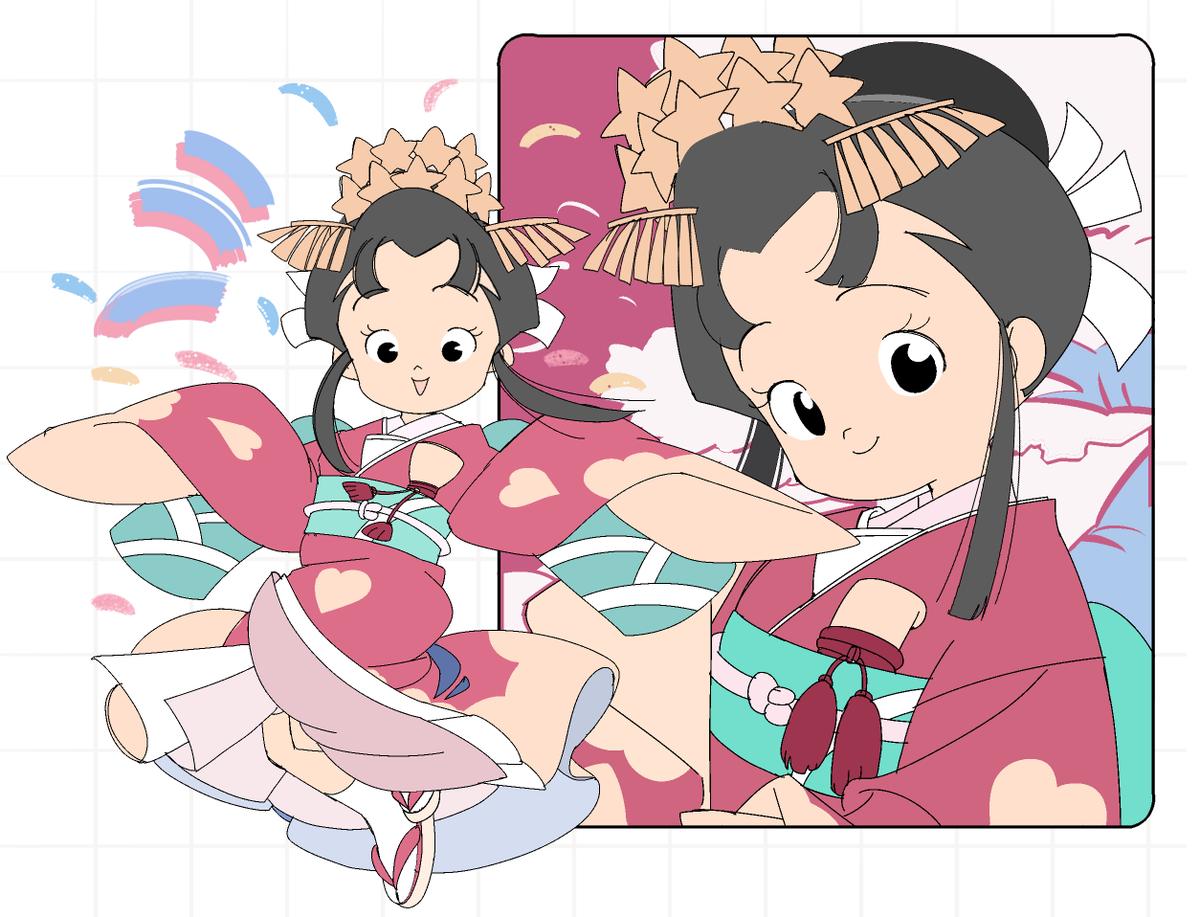 姫 アニメ あんみつ