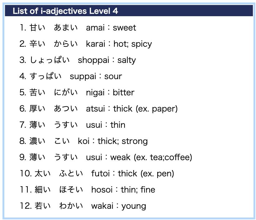 Jlpt Kanji List