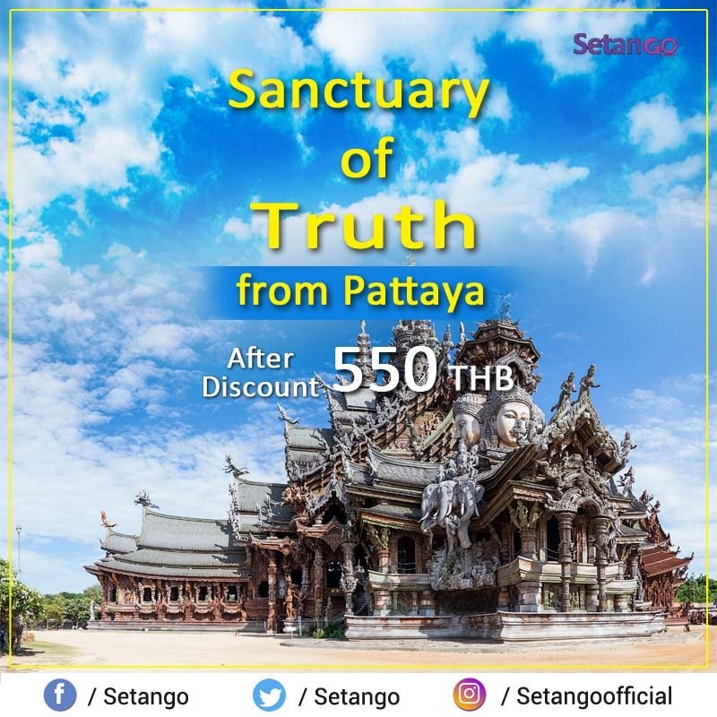 Sanctuary of Truth is a religious construction in Pattaya, It is completely made of wood, and all the delicate carvings are done by hand...  #amezingthailand #sanctuaryoftruth