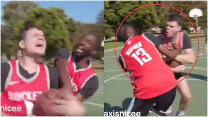【影片】哈登+威少怎麼打球?模仿帝上演「球不夠分」,同時給德帥下一道難題!