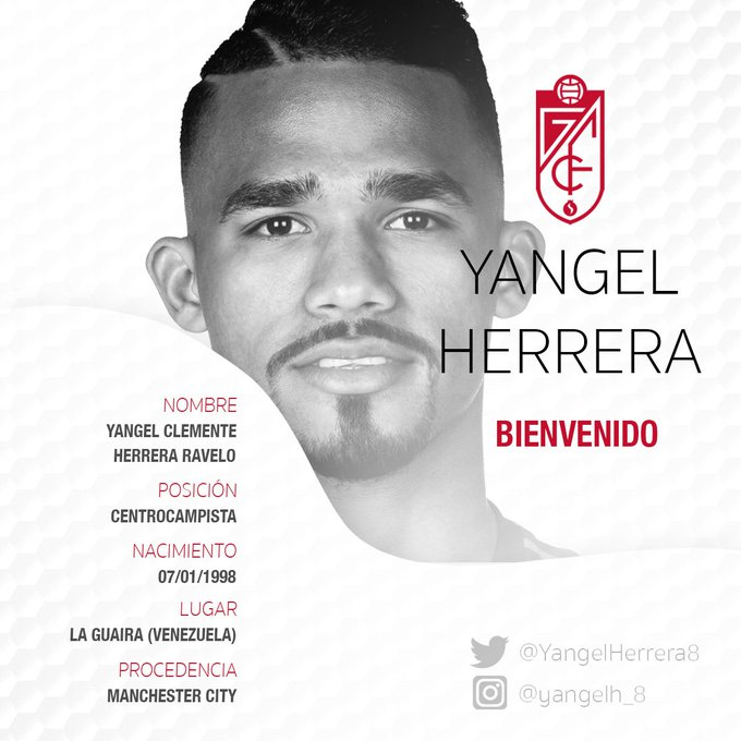 EAYwtbLXoAARRfB?format=jpg&name=small Yangel Herrera llega cedido al Granada - Comunio-Biwenger