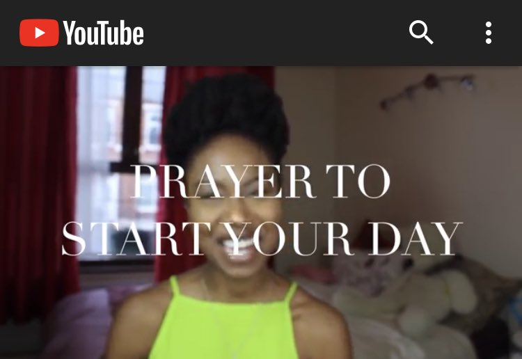 Do you want a prayer to start your day today? LISTEN TO THIS!! m.youtube.com/watch?v=2nBA-j…