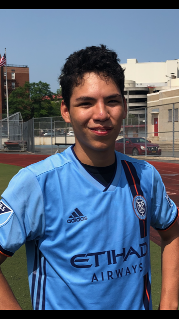 Two athletes and a coach will represent #SpecialOlympicsNY at next weeks #MLSAllStar Game! Meet Special Olympics athlete Adrien Ochoa (first pic), Unified partner Nathan Vazquez (second pic), and coach Courtney Kresic (third pic). Were rooting for you! #PlayUnifiedMLS @MLS