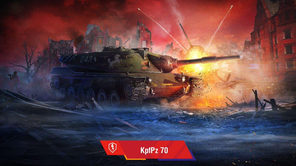 World Of Tanks Blitz On Twitter A Steel Monster Kpfpz 70
