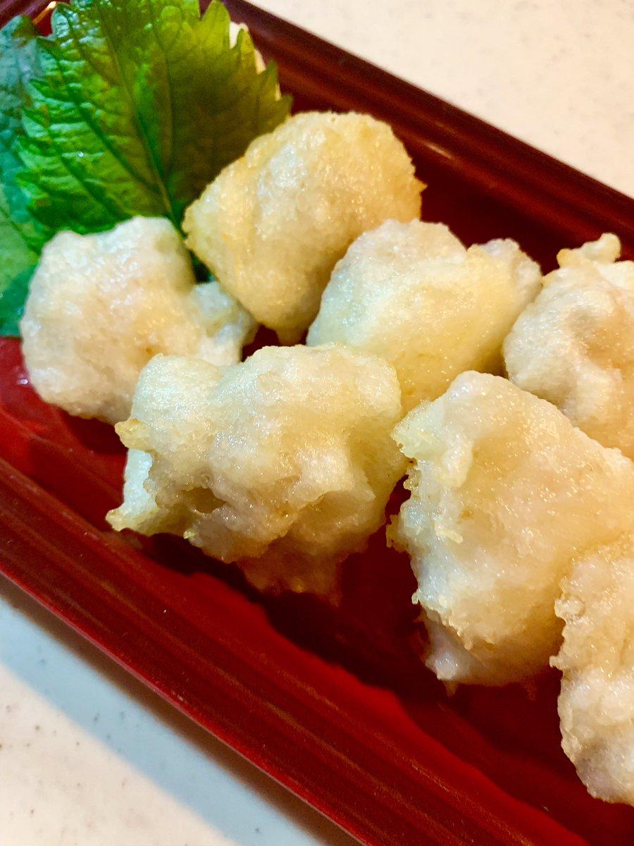 天ぷら 山芋 の