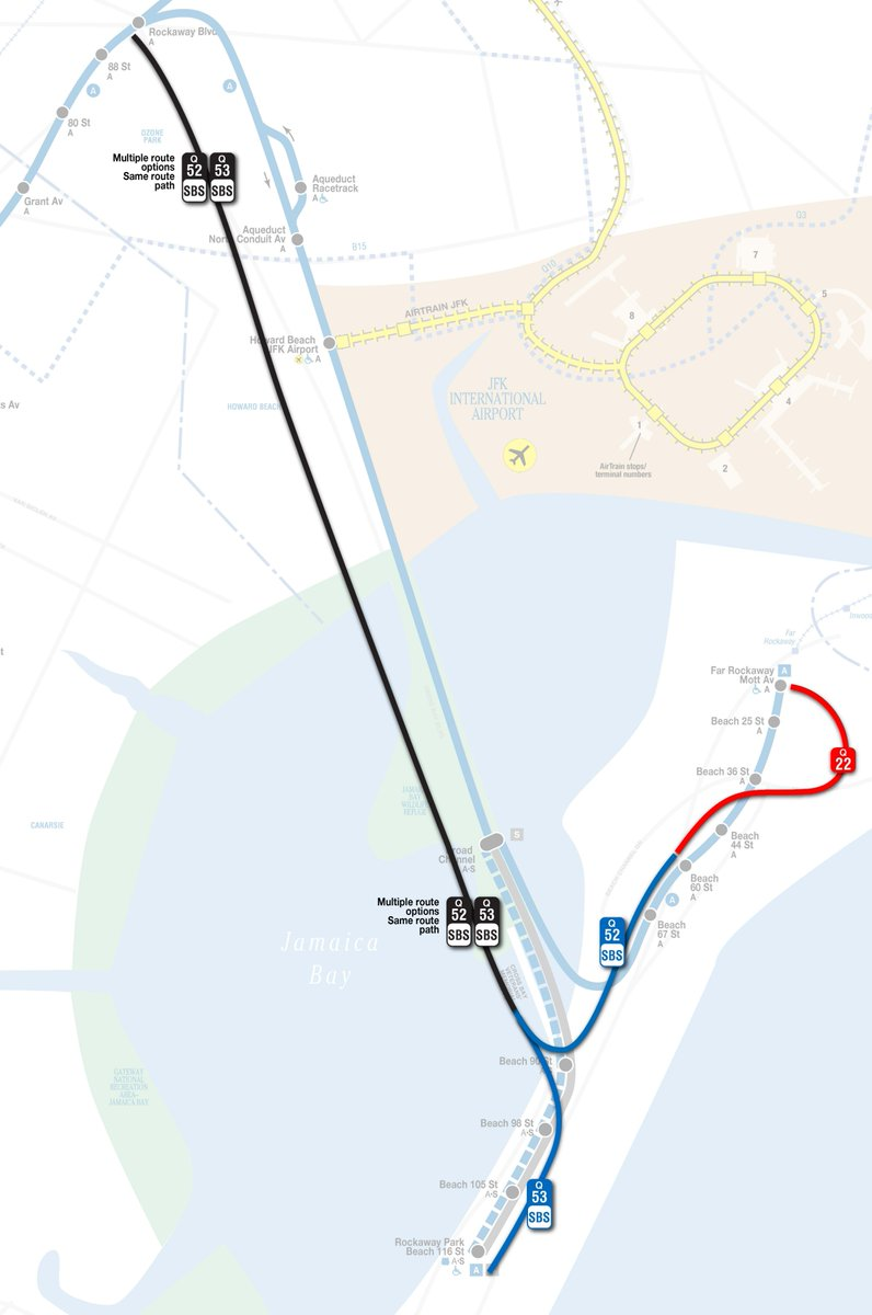Nyc Subway Map Howard Beach.Nyct Subway On Twitter A Trains Are Delayed In Both Directions