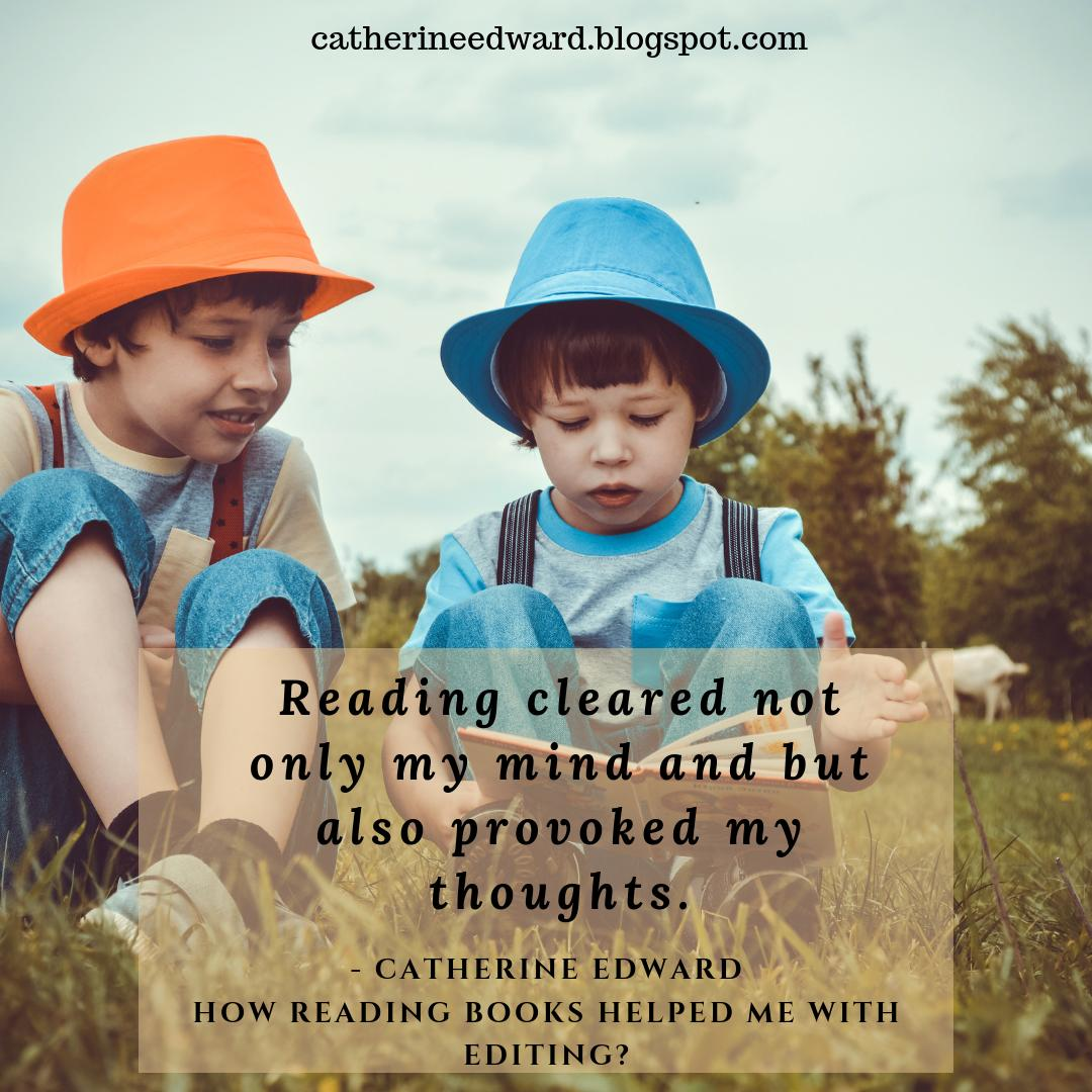 How reading books helped me with editing? Read it here -  https:// buff.ly/2JSqWzZ       #amreading #readinghelpsediting #amediting #writershelp #personalthoughts #editinghelp #strugglewithediting #writersblog #blogpost #writingcommunity #writerscommunity #writingtips #amwriting<br>http://pic.twitter.com/JJkHmHffkt