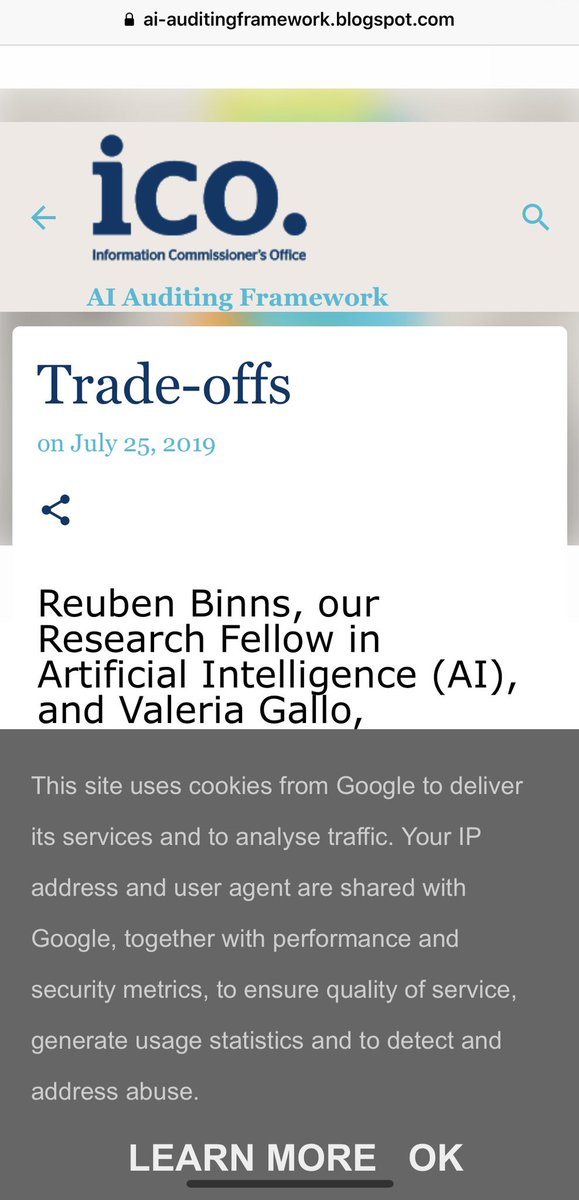 @ICOnews What if I dont want to share this information with Google? Or is this part of the trade-off?