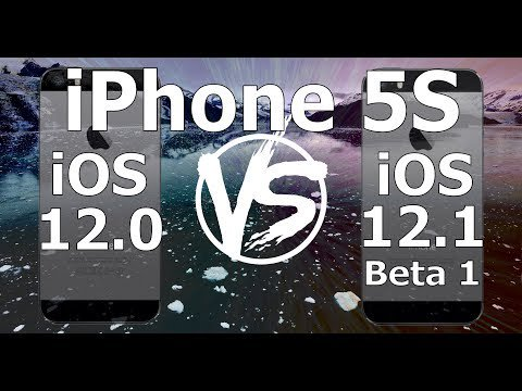 Speed Test : iPhone 5S - iOS 12.1 Beta 1 vs iOS 12.0 (Build 16B5059d) Public Beta 1 https://t.co/Jmb3n7NU57  So just the day after the release of iOS 12, Apple release the first Beta of iOS 12.1.  We saw hints of this release during the keynote... https://t.co/iBKn73lzoH