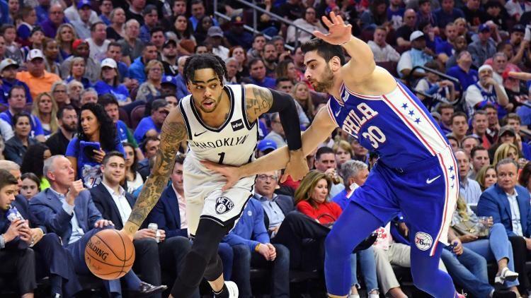 test Twitter Media - Should Knicks pursue D'Angelo Russell if Warriors put him on trade block? 🤔 https://t.co/YnOXh4aDof https://t.co/KNL8YQ5xka