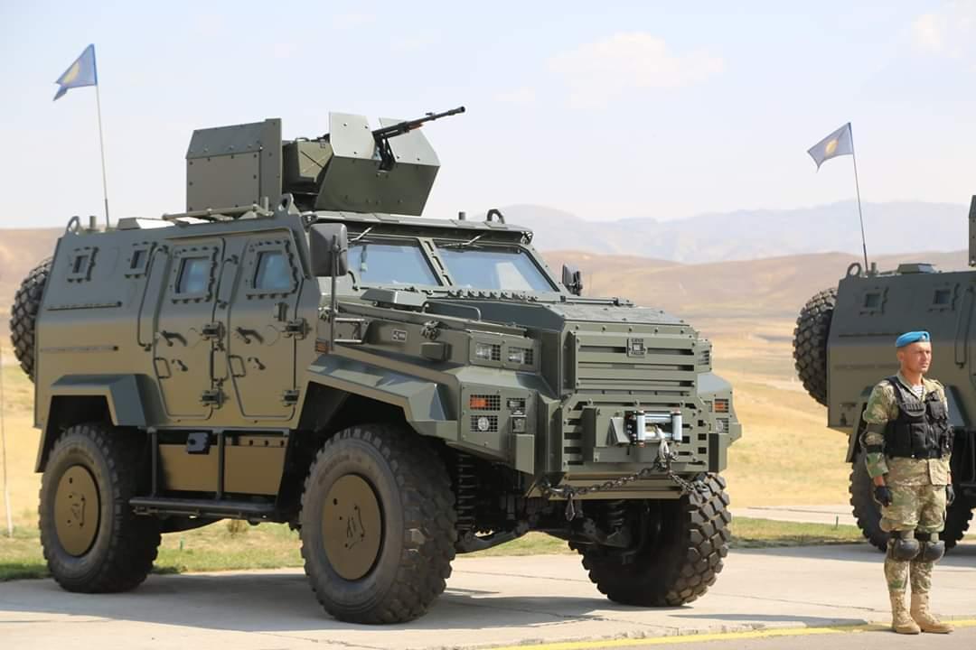 الجيش الأوزبكي يبدأ باستخدام المدرعة التركية Ejder Yalcin  EA_F9PrX4AAvXpr
