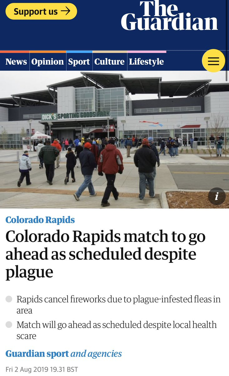 👀https://www theguardian com/football/2019/aug/02/colorado-rapids